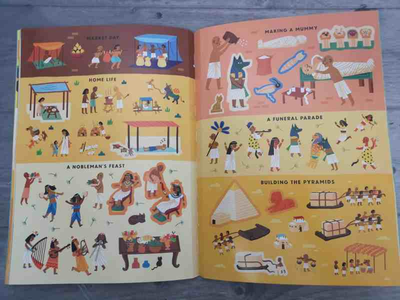 101 Stickers! Ancient Egypt