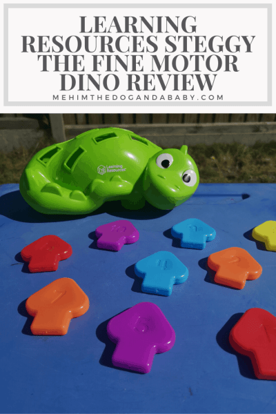 Learning Resources Steggy The Fine Motor Dino Review