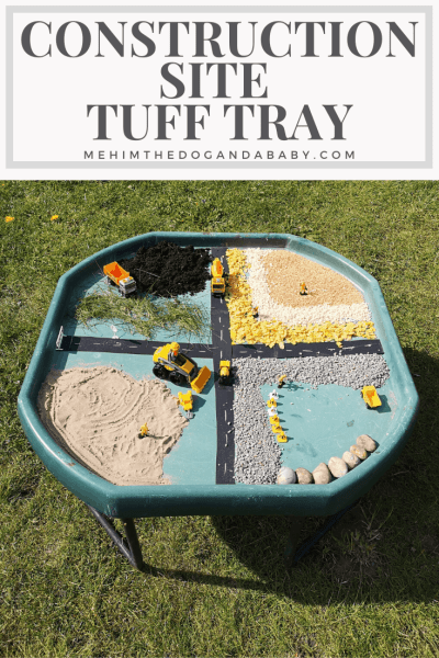 Construction Site Tuff Tray