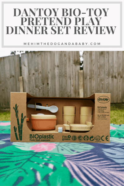 Dantoy Bio-Toy Pretend Play Dinner Set Review
