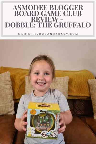 Asmodee Blogger Board Game Club Review - Dobble: The Gruffalo