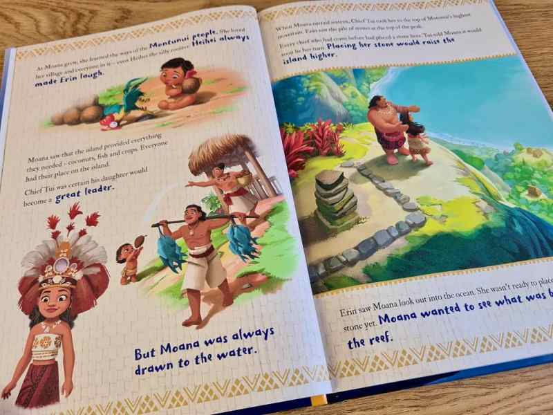 In The Book Moana