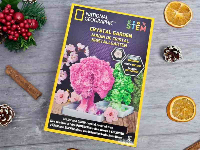 National Geographic Crystal Garden Kit