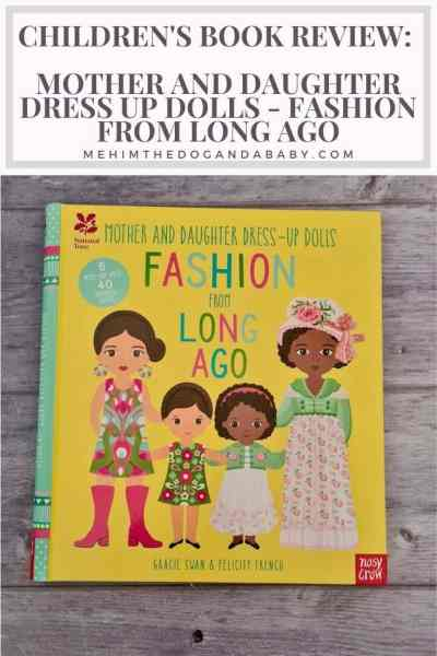 Children's Book Review: Mother and Daughter Dress Up Dolls - Fashion From Long Ago