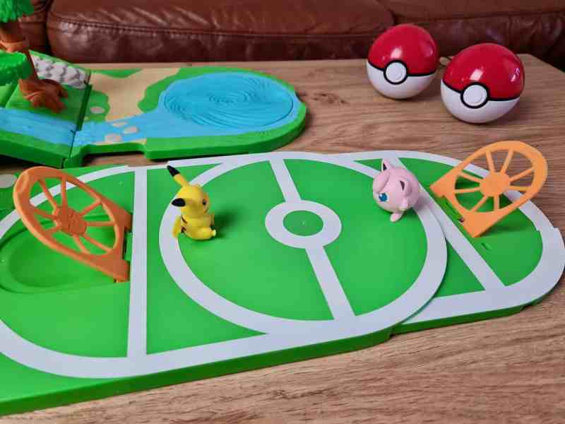 Pokémon Carry Case Playset battle area