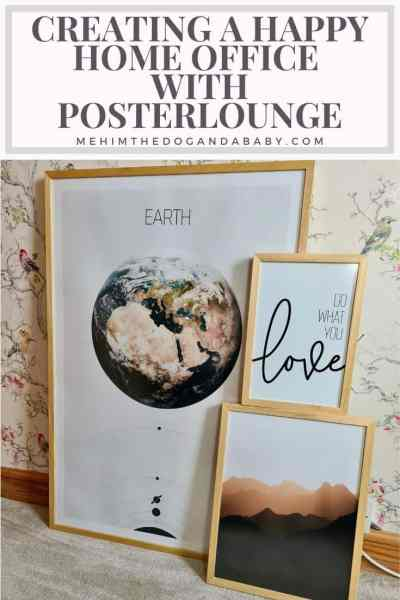Creating a happy home office with Posterlounge