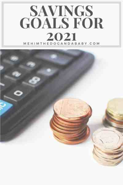 Savings Goals For 2021