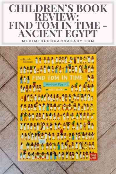 Children's book review: Find Tom In Time - Ancient Egypt