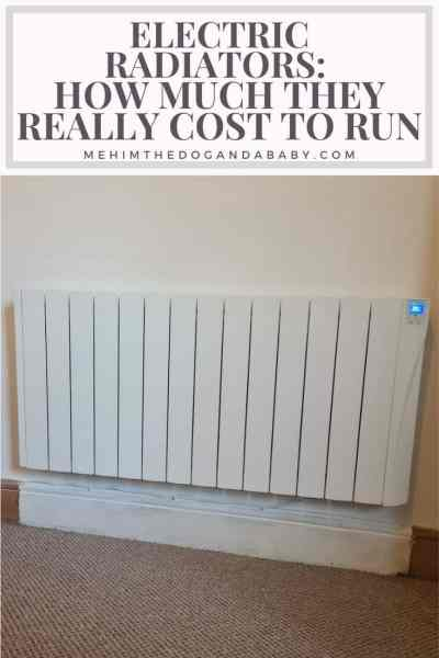 Electric radiators - How much they really cost to run