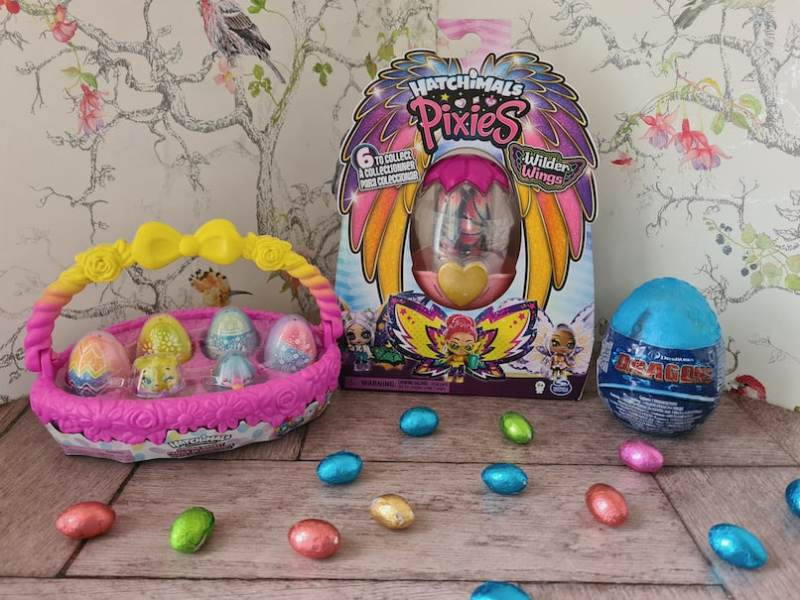 Spin Master egg themed toys