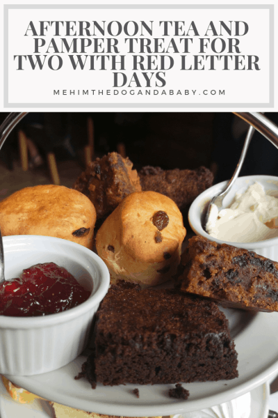 Afternoon Tea And Pamper Treat For Two With Red Letter Days