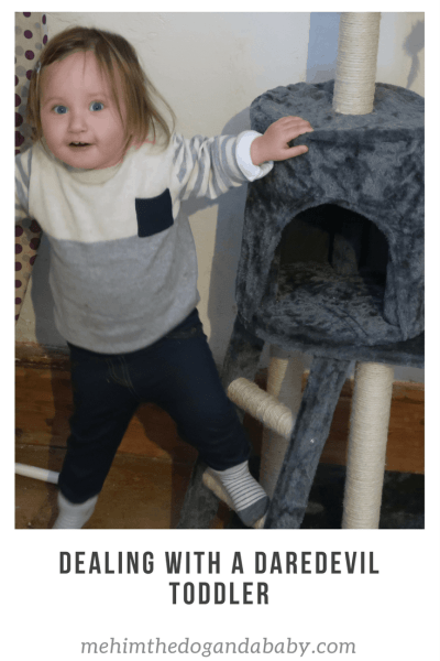 Dealing With A Daredevil Toddler