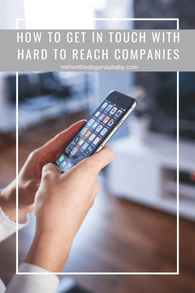 How To Get In Touch With Hard To Reach Companies