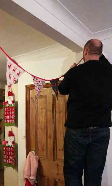 Decorating The House For Christmas