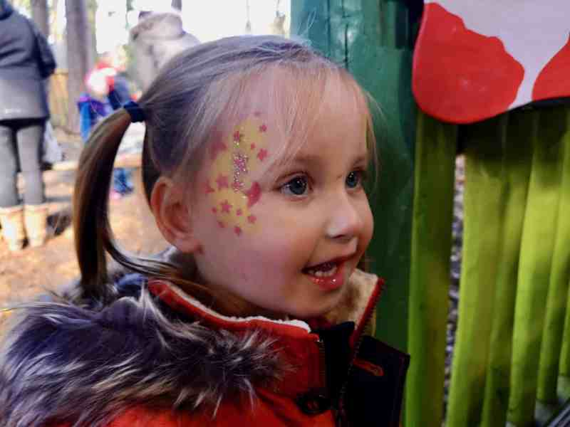 BeWILDerwood face painting