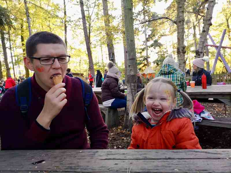 BeWILDerwood ice cream