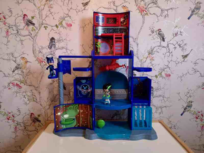 PJ Masks Mission Control HQ Playset open