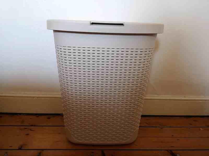 rattan effect laundry hamper