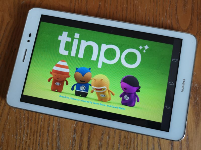 Tinpo title screen
