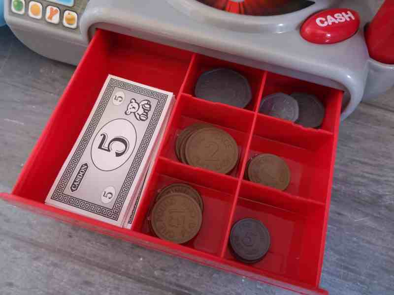 Casdon Supermarket Till money drawer
