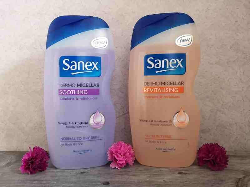 Sanex body washes