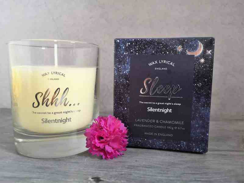 Silentnight Lavender and Chamomile candle
