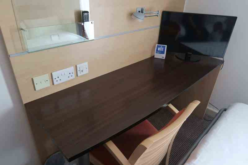 Holiday Inn Express London - Stansted Airport Hotel workspace