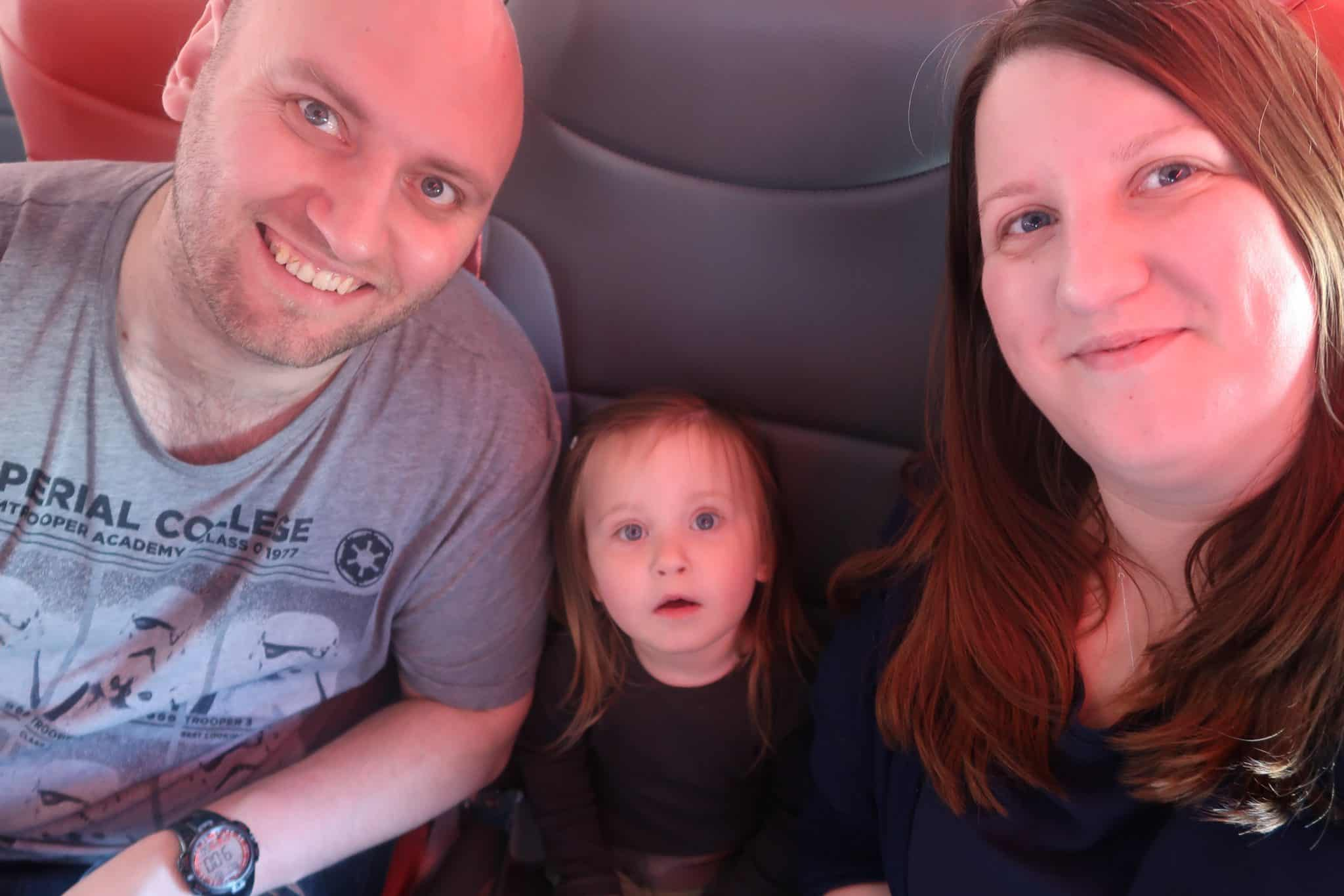 Family flight photo