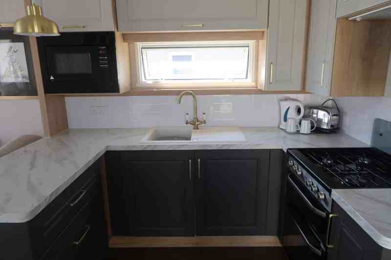 Haven Prestige Caravan Kitchen