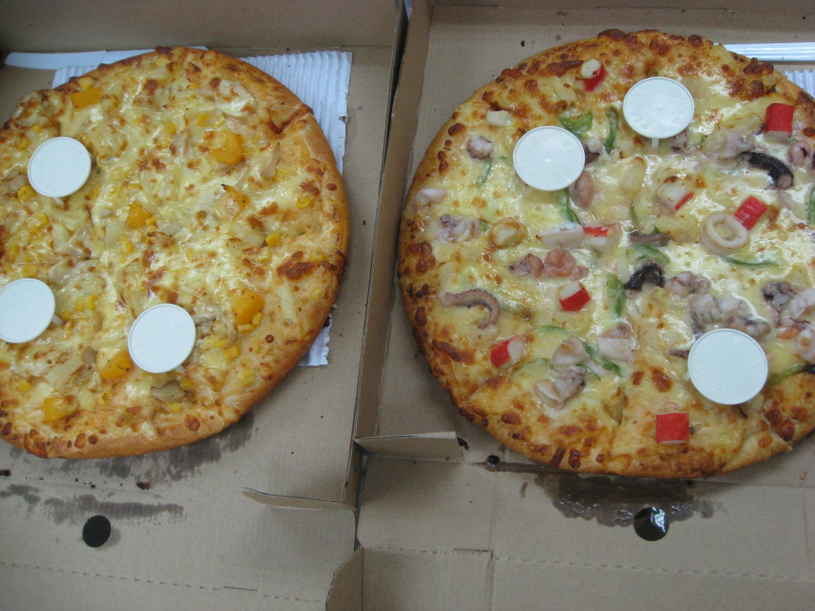 觀塘 – 芝脆雞 (cheese pizza) | meh