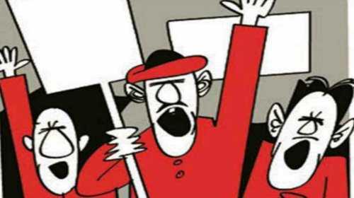 निजीकरण व श्रम विरोधी कानूनों के ख़िलाफ़ प्रतिरोध