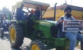 पंजाब से किसानों के बड़े काफिले दिल्ली बॉर्डर के लिए रवाना