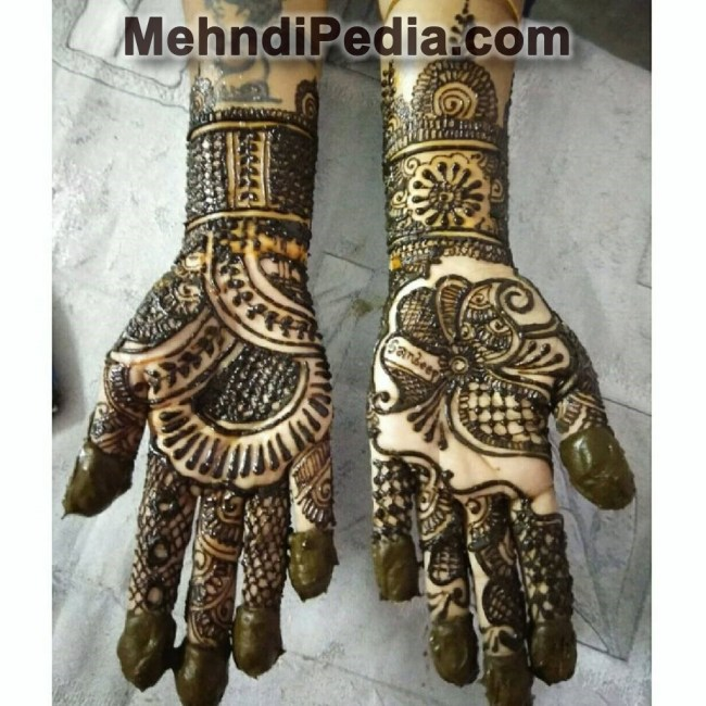 Simple Mehndi Designs For Front Hands Mehndi Pedia