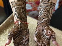 easy only front hand mehndi designs