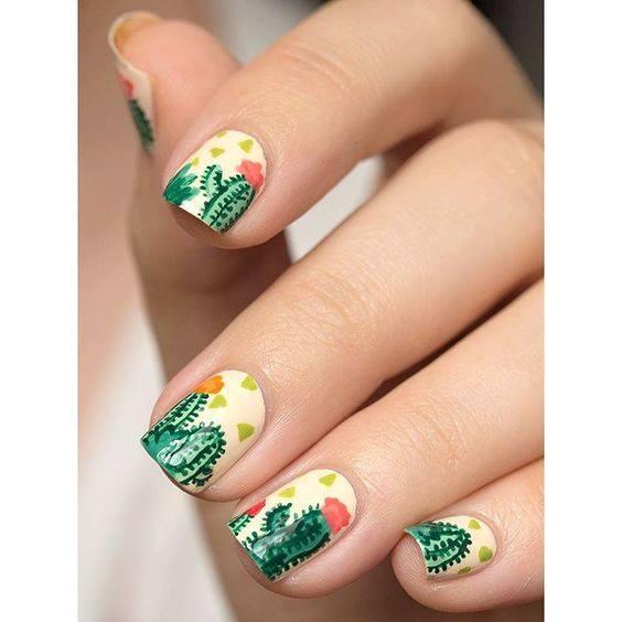 bella hadid nail art designs