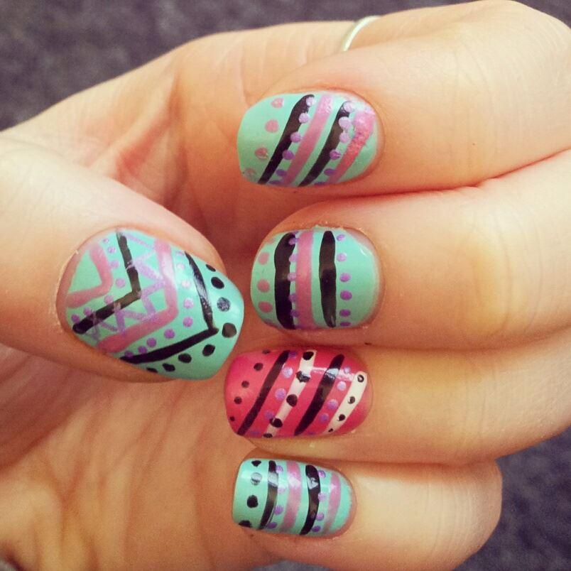 Gigi hadid nail art designs free