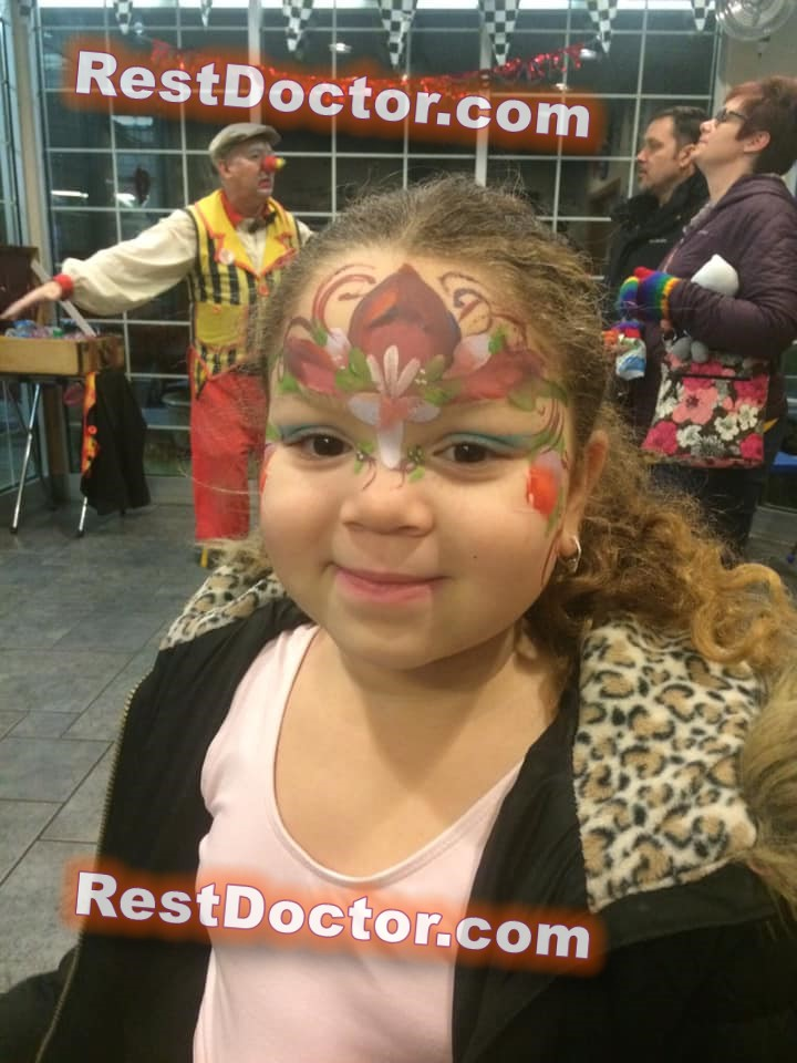 king style face paint