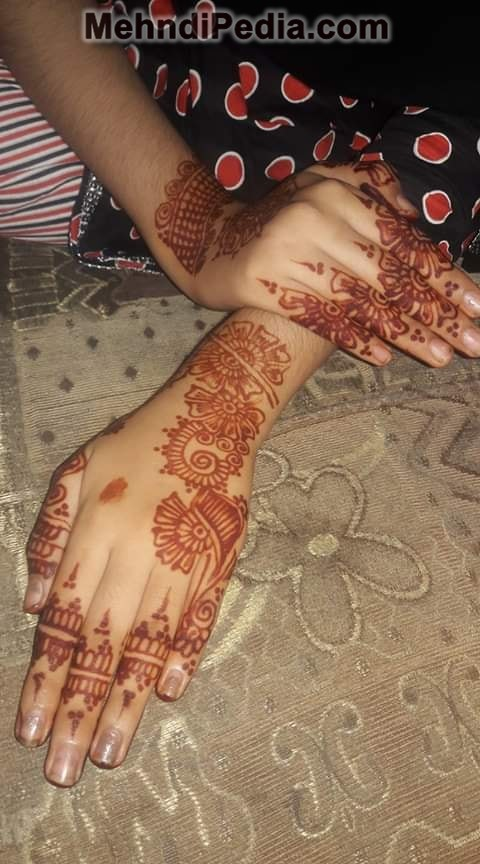 back hand amazing henna designs images