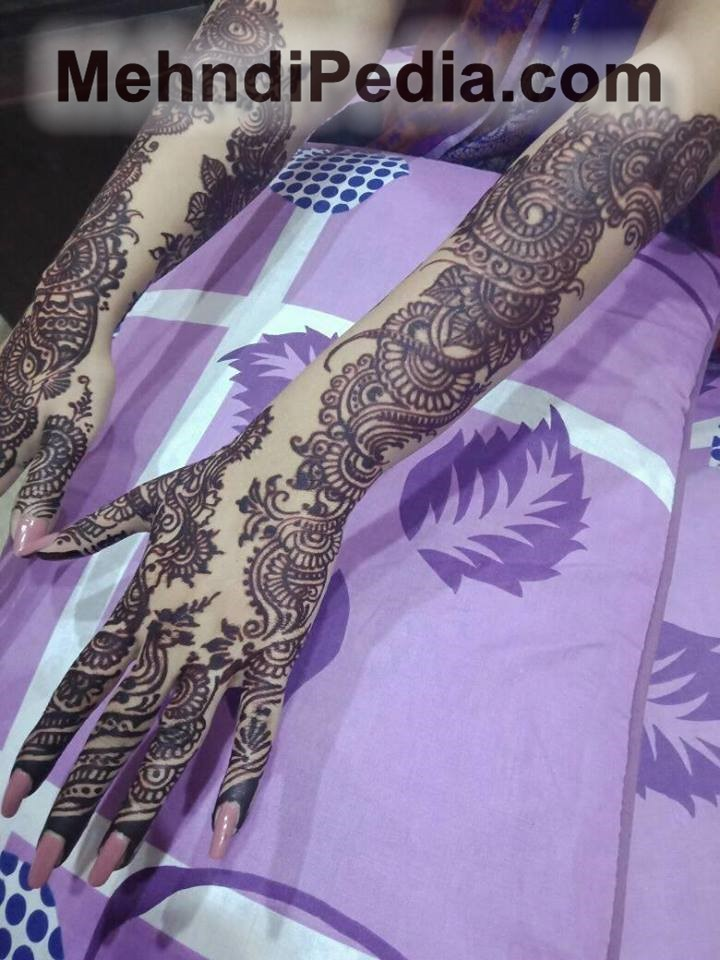 easy and beautiful home mehndi designs