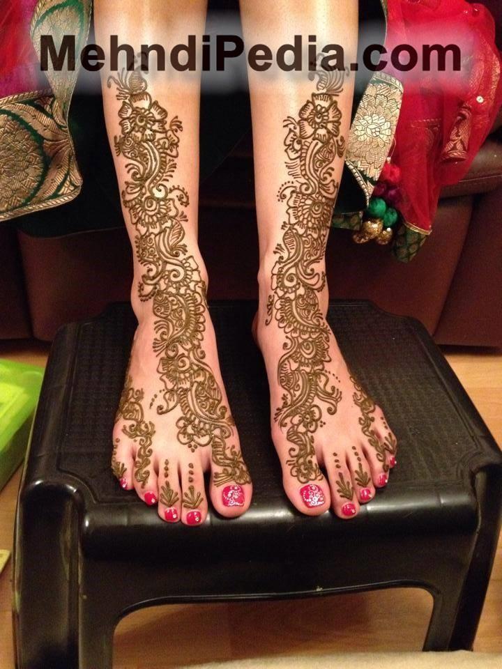 foot and leg full designs