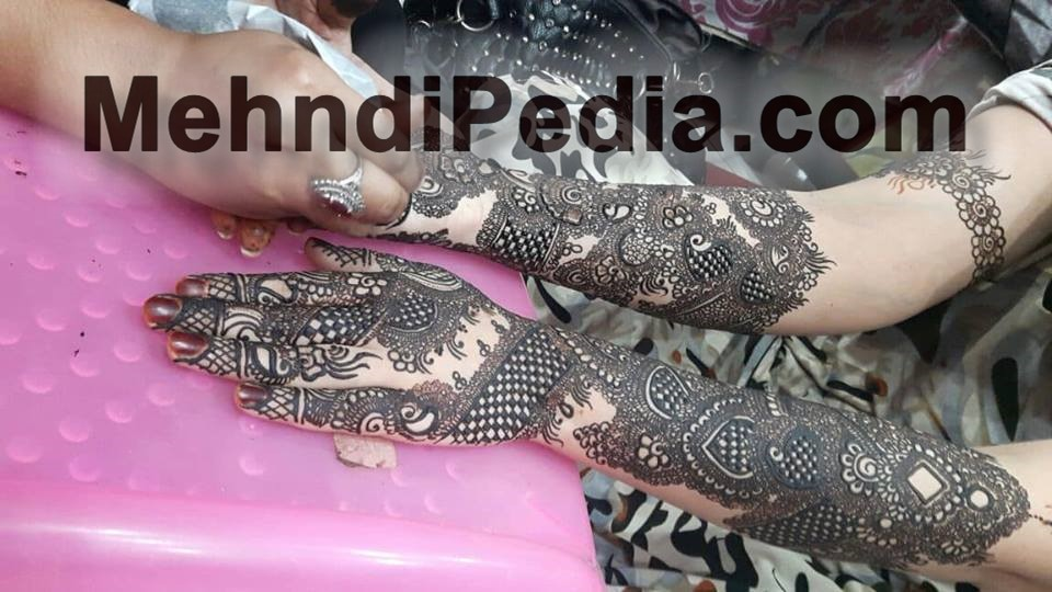 how to designs for mehndi