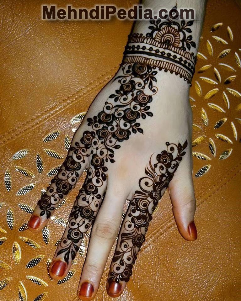 mehndi designs on full hand images