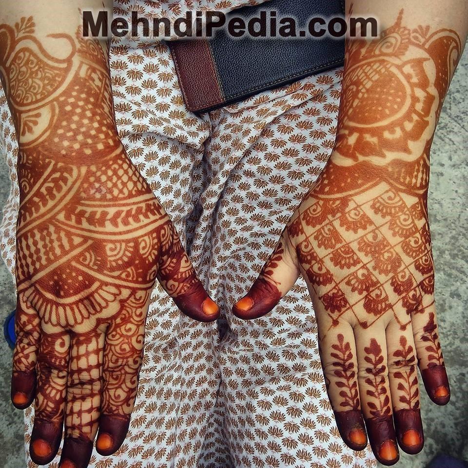 simple at home mehndi designs wallpaper