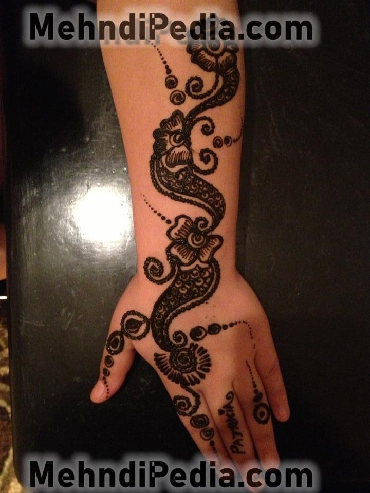 amazing arm mehndi designs easy