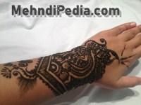 amazing arm only mehendi designs