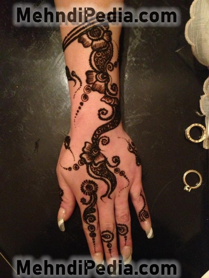 simple and easy henna mehndi designs