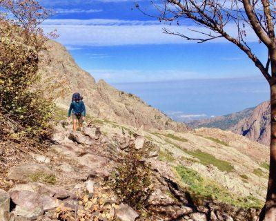 Hochalpines Bergwandern mit Meerblick: Der GR20 auf Korsika