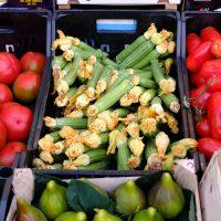 Trofie mit Zucchiniblüten und Ricotta