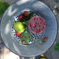 Erdbeerkonfitüre (ohne Gelierzucker)