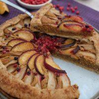 Herbstliche Birnen-Frangipane-Tarte